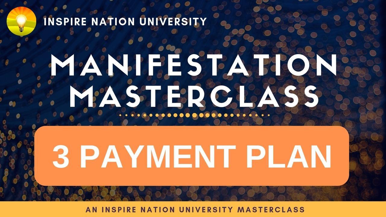 Cxnyrjdgqvkpddowekyy manifestation masterclass payment plan