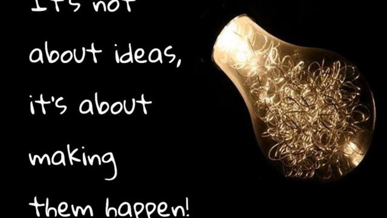 Mcofywot7ud2koxvfl4l turn ideas into action