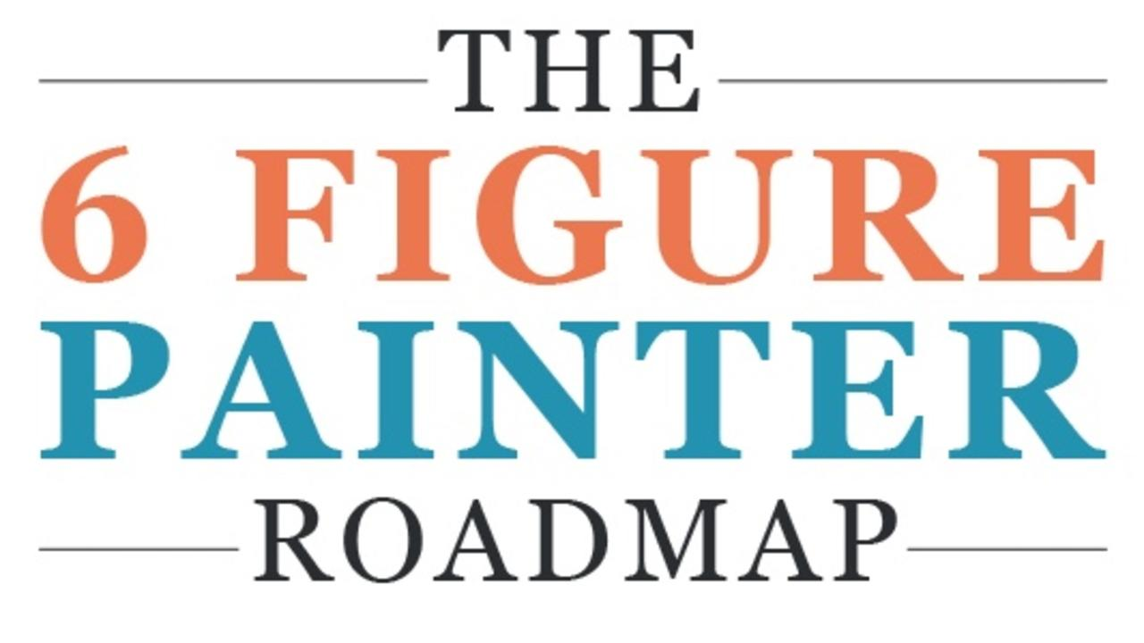 Fclbnhtrsvawdzztsdaa the six figure painter roadmap   logo