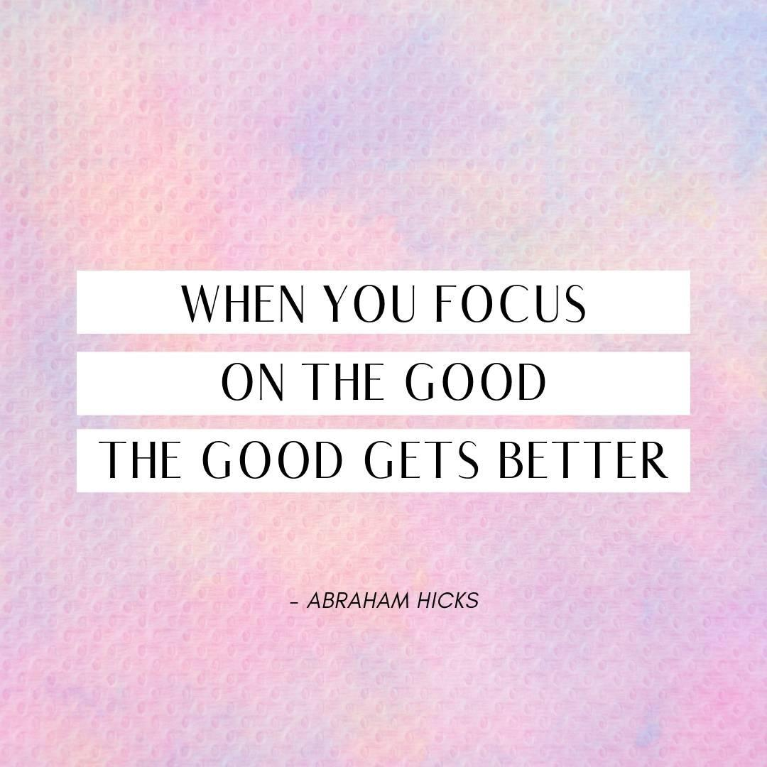 Pinterest Quote Graphic with Title When you focus