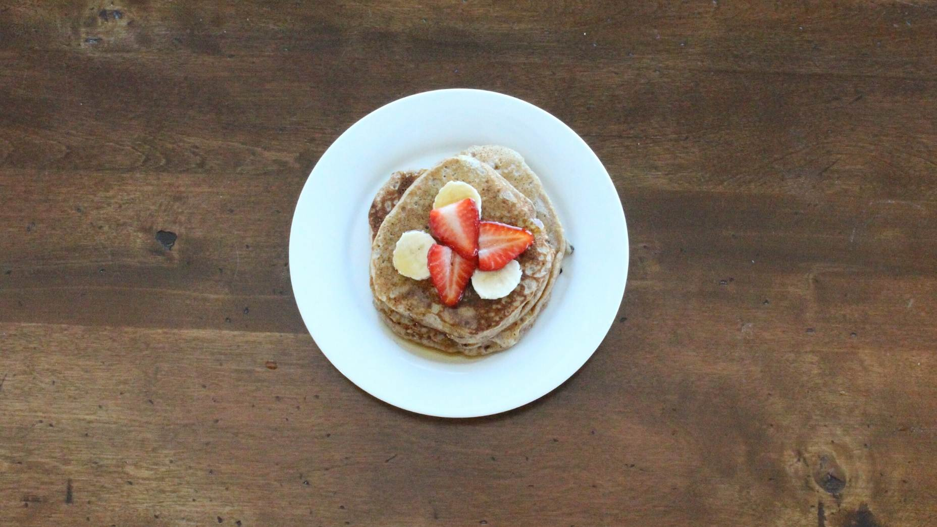 iron fortified pancakes for baby led weaning.