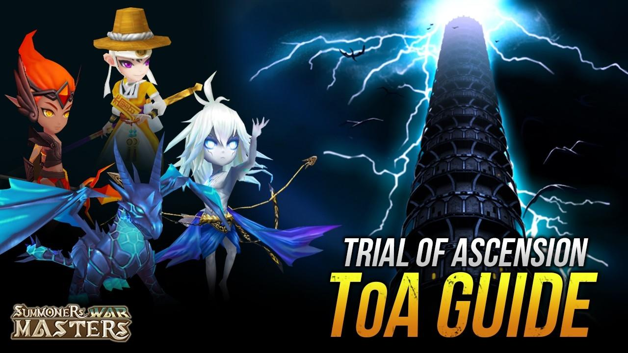 Trial of Ascension (ToA) Guide - Teams, Monsters & Runes
