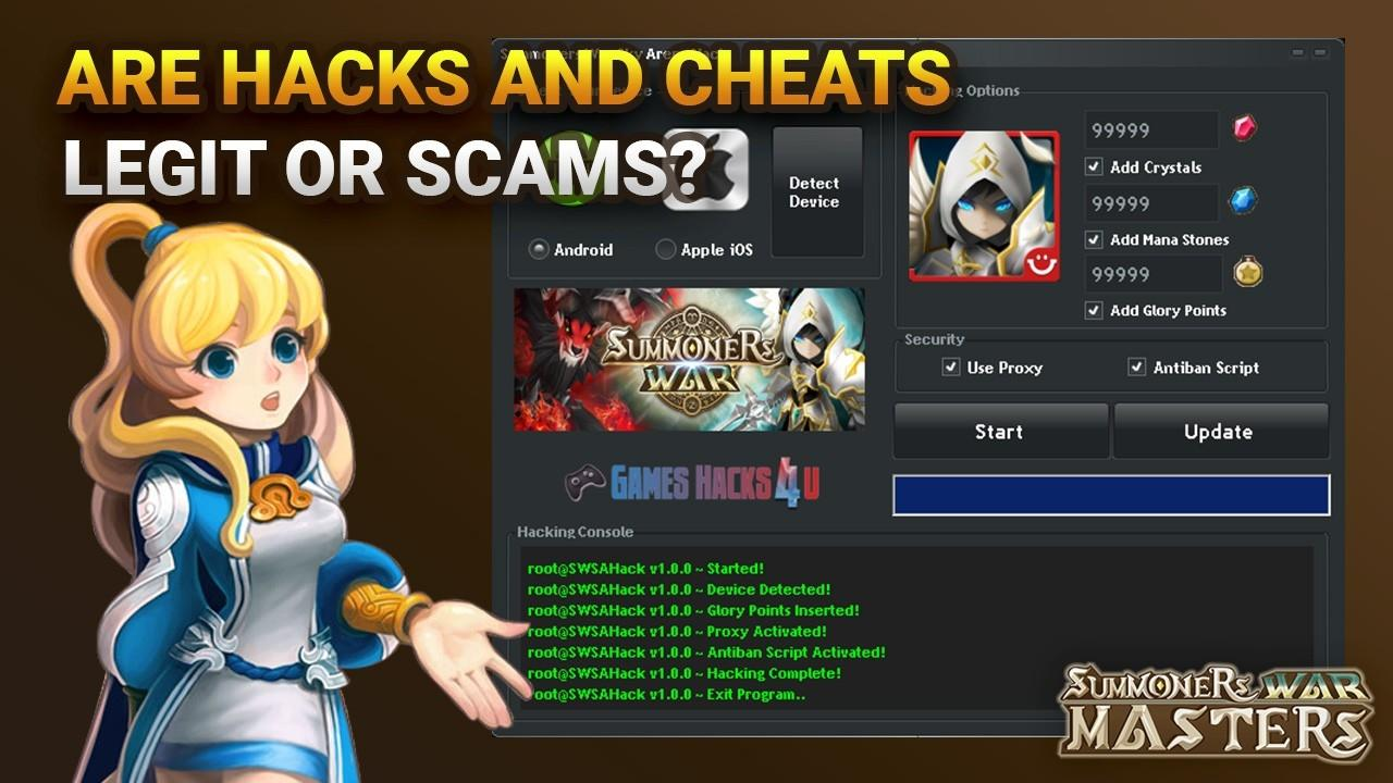 Are Summoners War Hacks & Cheats Legit or Scams? [2019]