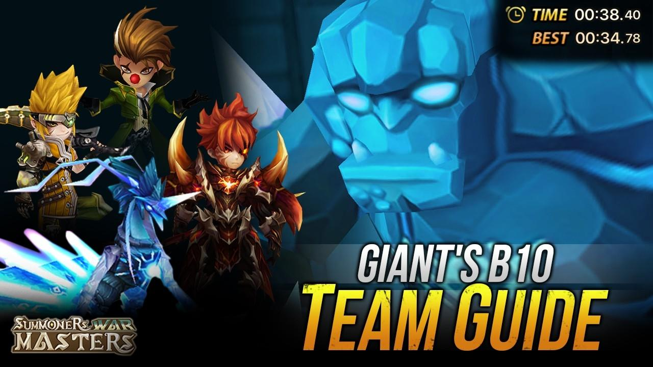 Summoners War GB10 Team Guide (Beginner To Speed Team)