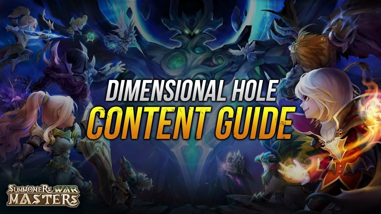 The Dimensional Hole Content Update (Team Builds, Rewards