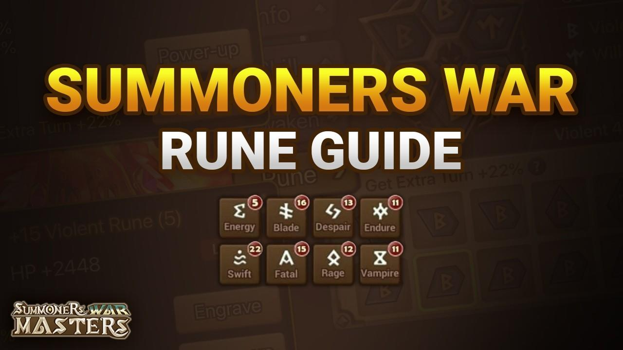 Summoners War Rune Guide (Stats, Locations, & Builds)