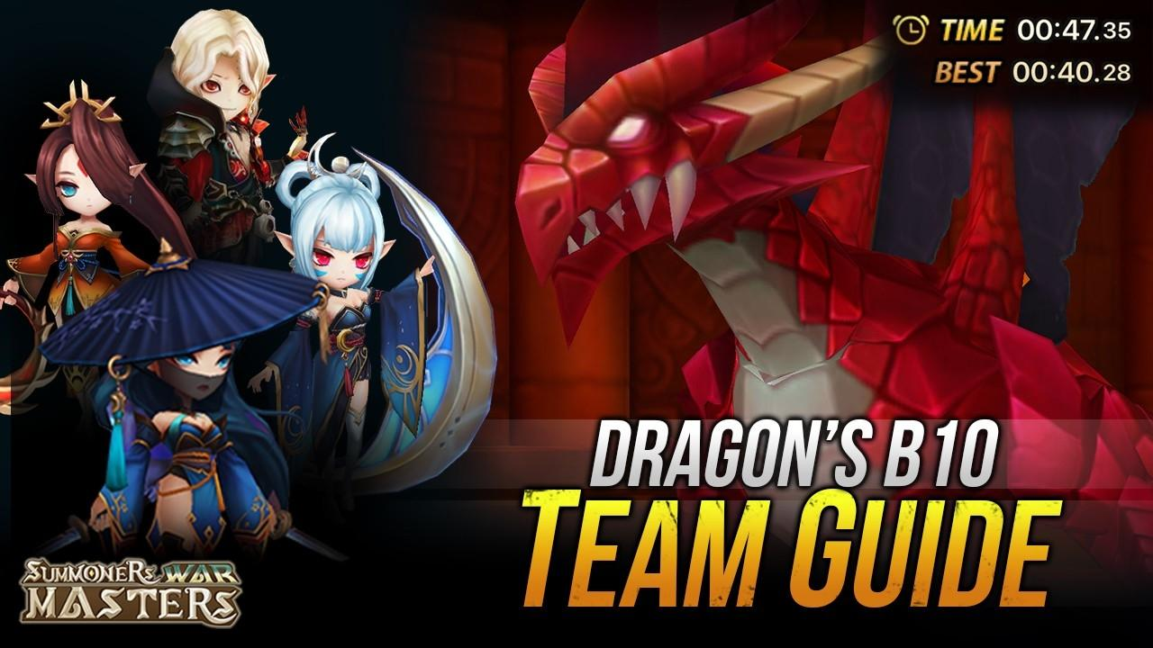 Summoners War DB10 Team Guide (Basic To Speed Team)