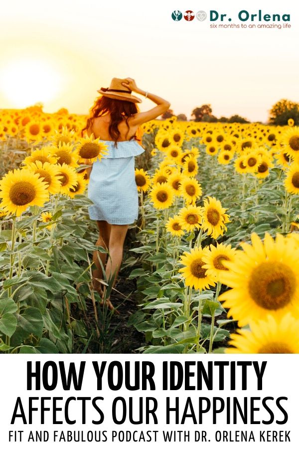 A woman walking through a field of sunflowers at sunset #health #happiness #mentalhealth #healthyliving
