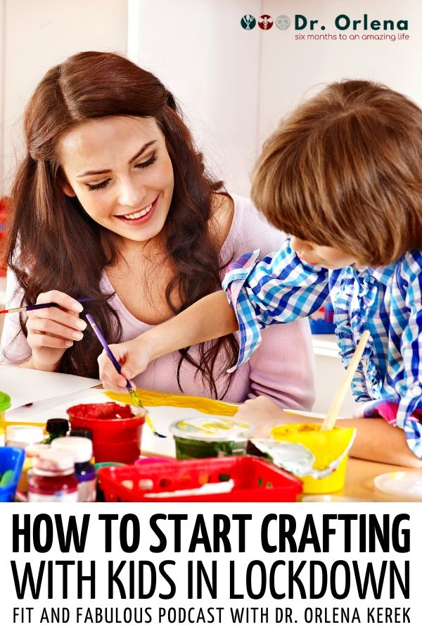 A mom and son making crafts inside the house #lockdown #crafts #crafting #craftingkids #kidsactivities #lockdowncraft #lockdownactivities