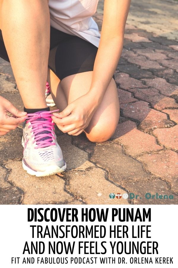 Closeup photo of a woman tying her shoelaces getting ready for a jog #healthy #healthylifestyle #wellness #younger #eathealthy #exercise