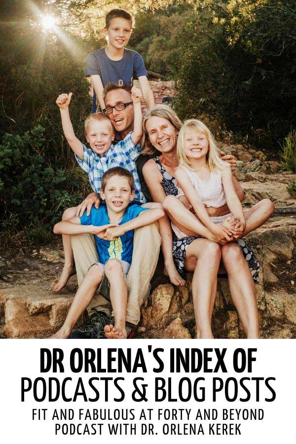 A photo of Dr Orlena with her husband and four kids #healthy #healthylife #healthyliving #healthylifetips #healthylivingtips #healthylivingmotivation #lifestyle #healthylifestyle #positivity