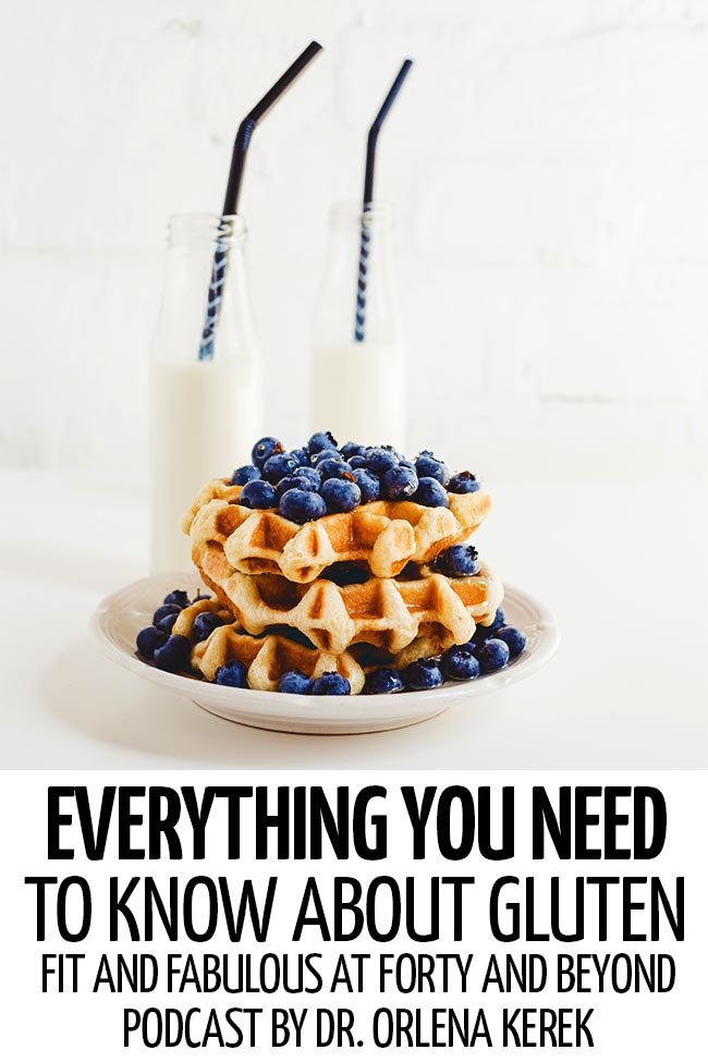 A plate of waffles with fresh blueberries with two bottles of milk #healthy #healthylife #healthyliving #healthylifetips #healthylivingtips #healthylivingmotivation #lifestyle #healthylifestyle #positivity #selfimprovement #weightloss #loseweight #gluten #whatisgluten #glutenfacts