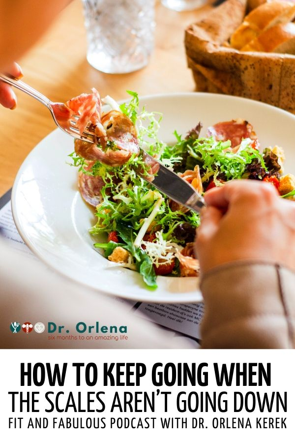 Over-the-shoulder photo of a person eating a salad #weightloss #lossweight #weightlossplans #healthyweight #healthyliving #wellness
