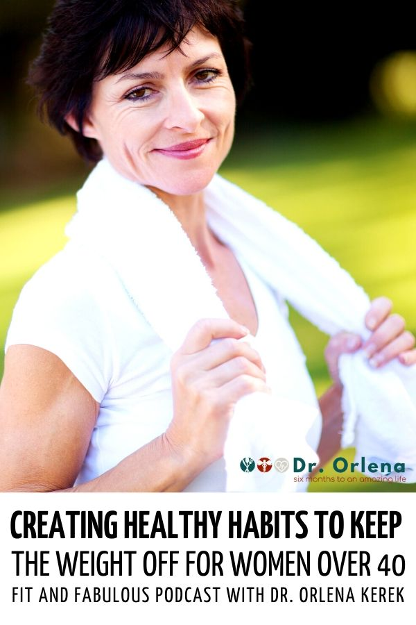A woman smiling at the camera after exercising outdoors #healthy #healthyliving #wellness #healthylife #healthyhabits #weightlosshabits #middleagewoman