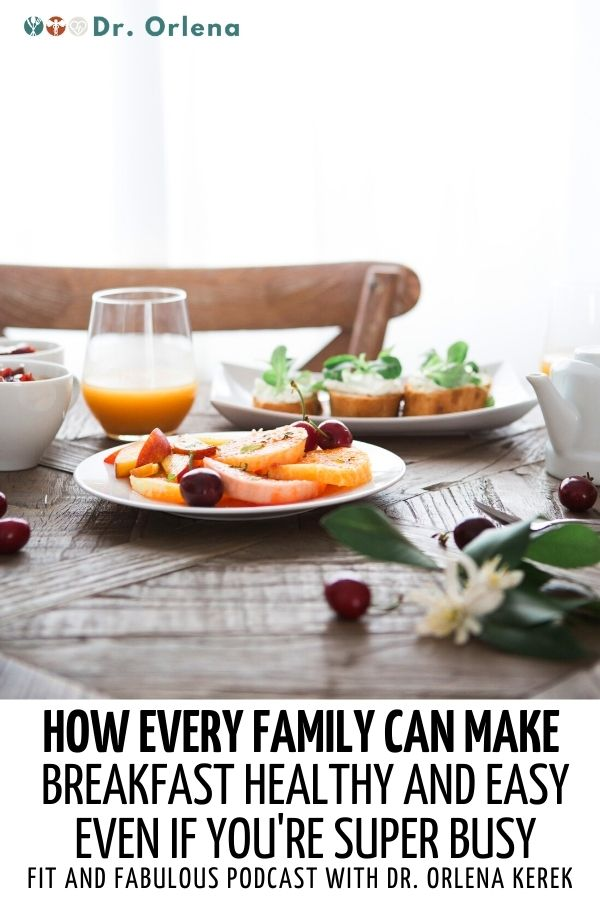 Healthy breakfast on a table #healthyfamily #healthybreakfast #parenting #healthyparenting #cookingforfamily #busymoms