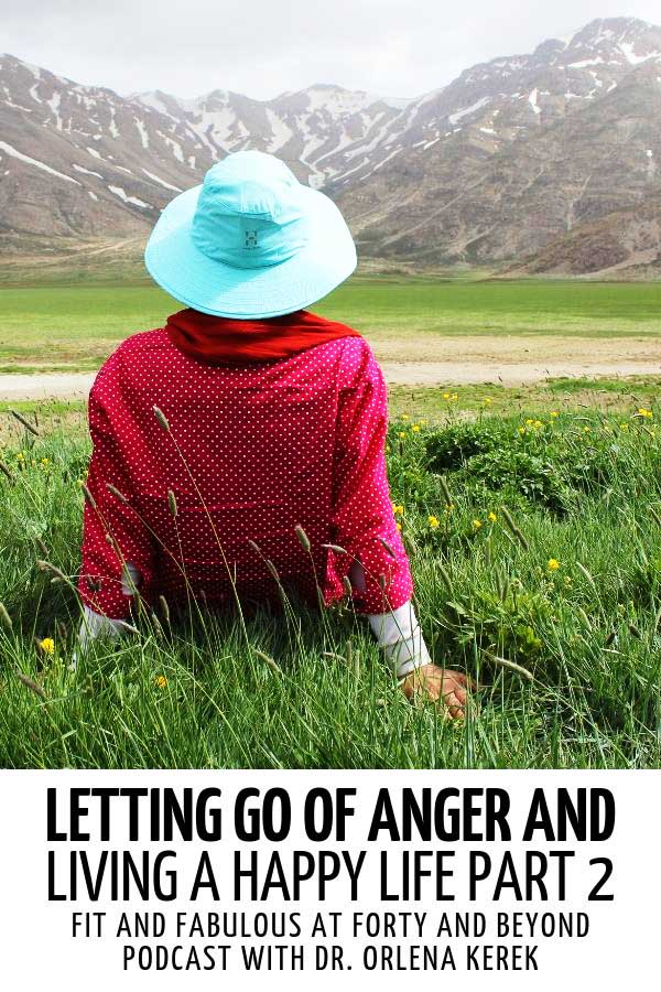 A woman relaxing on a meadow #anger #lettinggoofanger #angermanagement #angercontrol #angeremotion