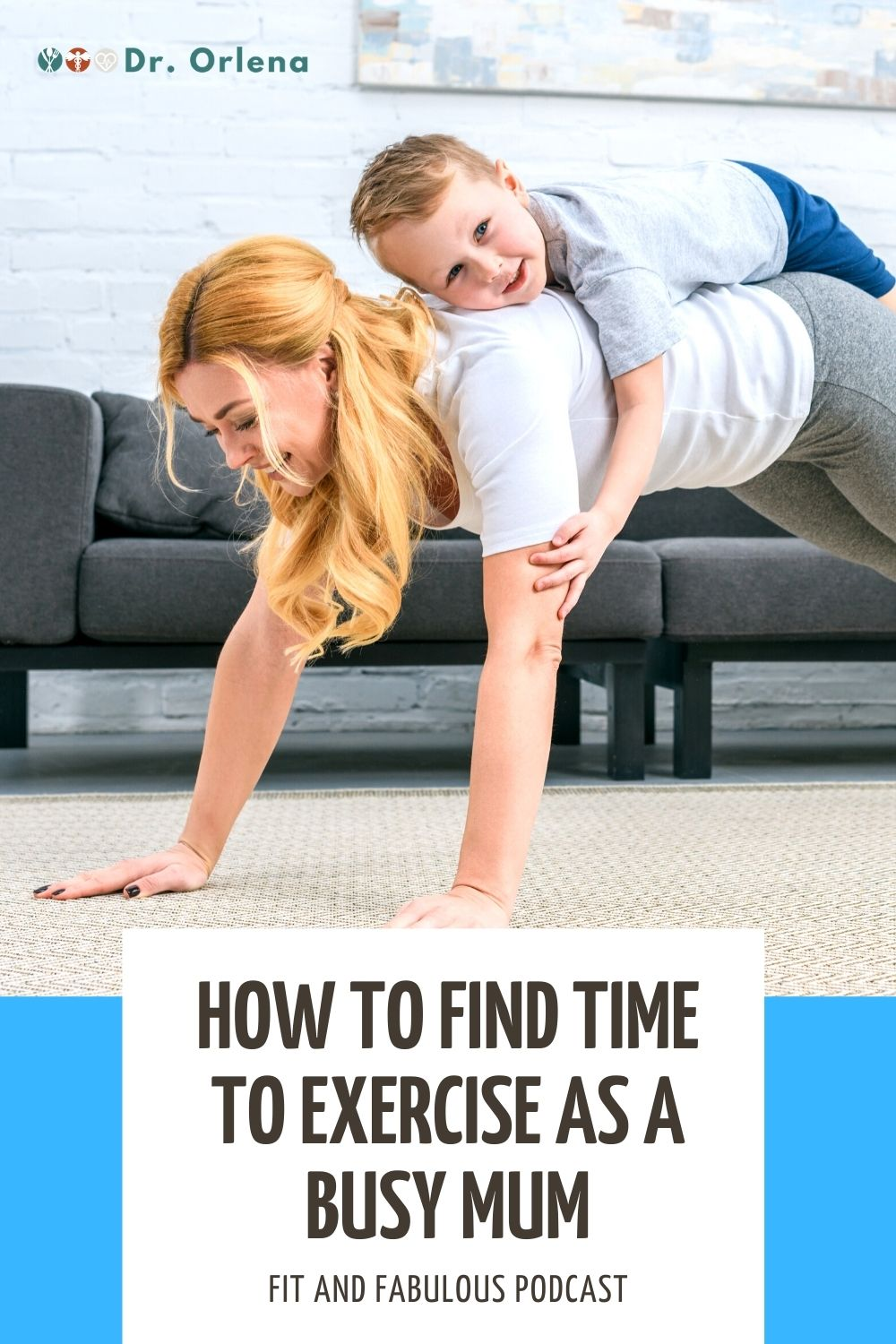 A woman doing yoga poses with her son on her back #momexercise #momhealth #activemom #healthymom #healthyliving