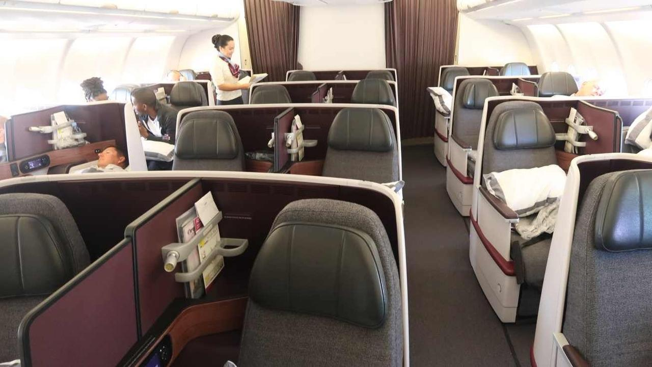 Qatar Airways Business Class Flight Review