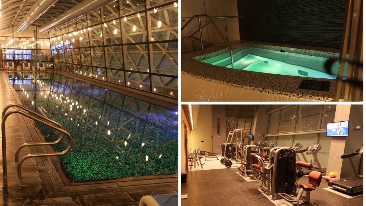 Vitality Spa Pool & Fitness Centre Review at Doha Hamad Airport