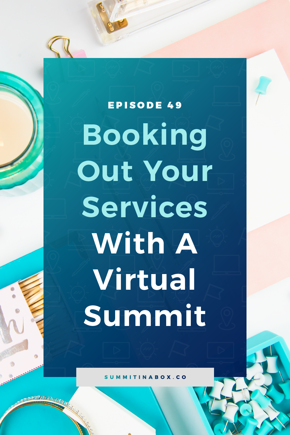 Wondering how to get clients for your service-based business? Here's how to book out your services with a virtual summit and how it differs from products.