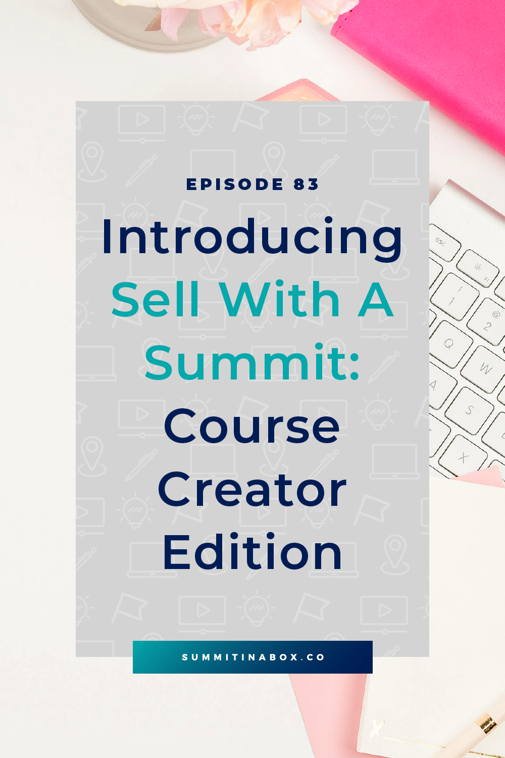 Are you a course creator who wants to hit your biggest course launch ever with a virtual summit? Learn how to sell with a summit at this free event!