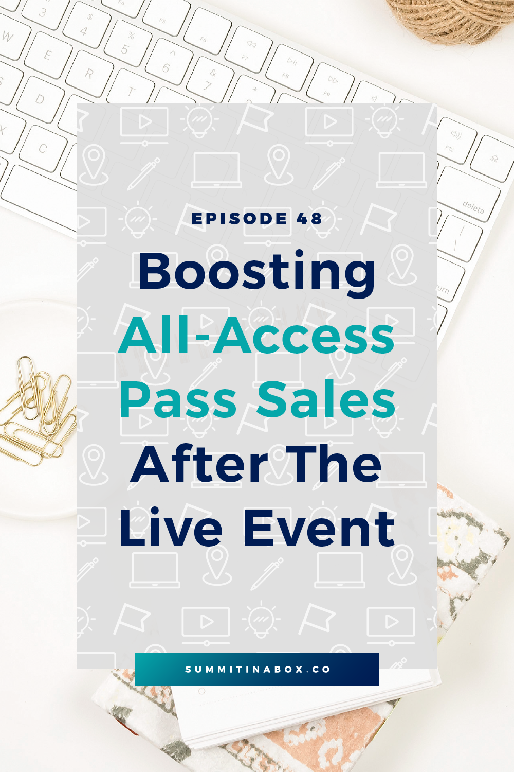 Your summit presentations are over, but that doesn't mean sales have to stop! Here's how to increase all-access pass sales once your virtual summit is over.