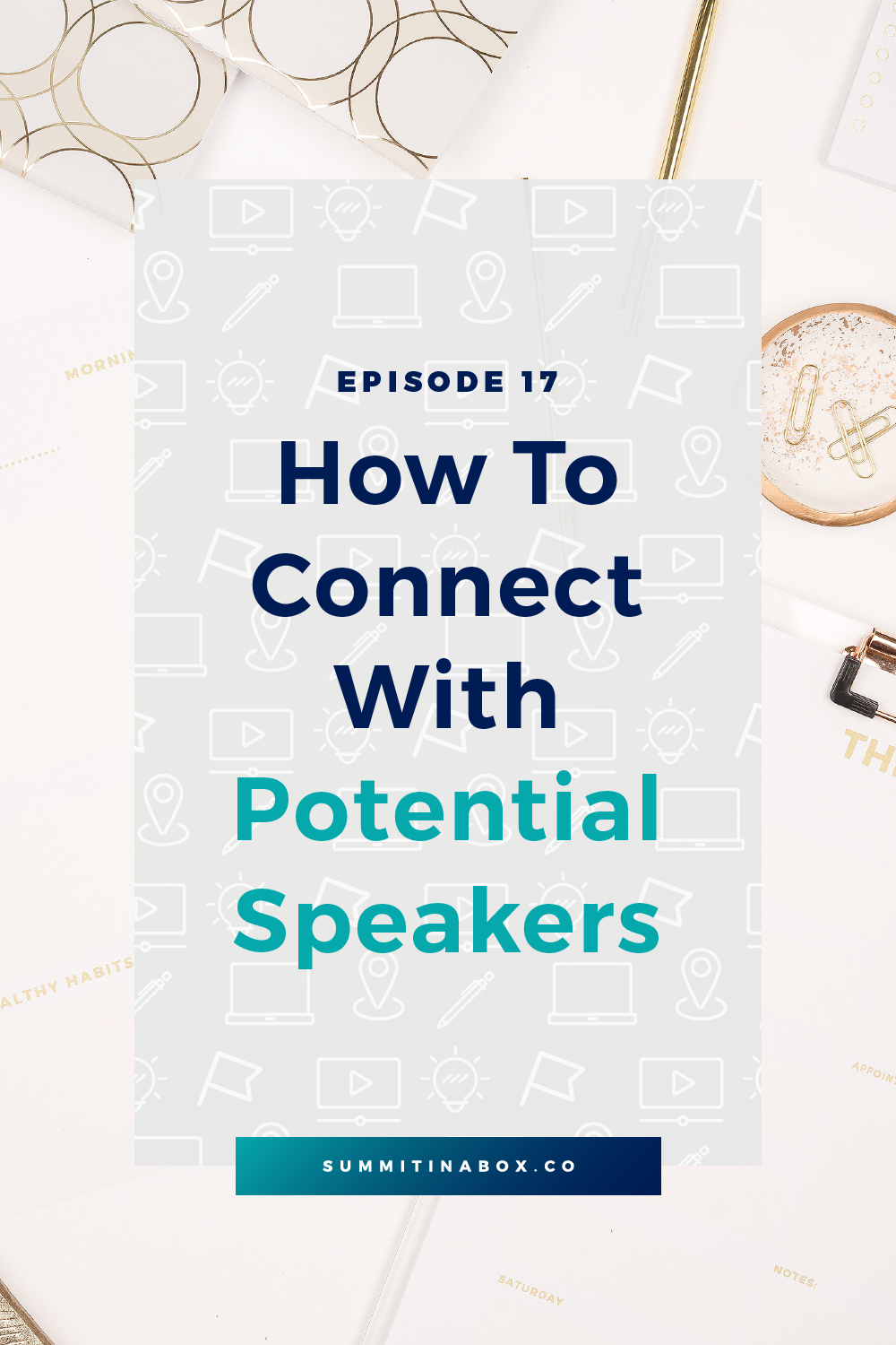 Pitching virtual summit speakers is much easier when you've made a connection first. Let's cover a simple strategy to help you connect with potential speakers.