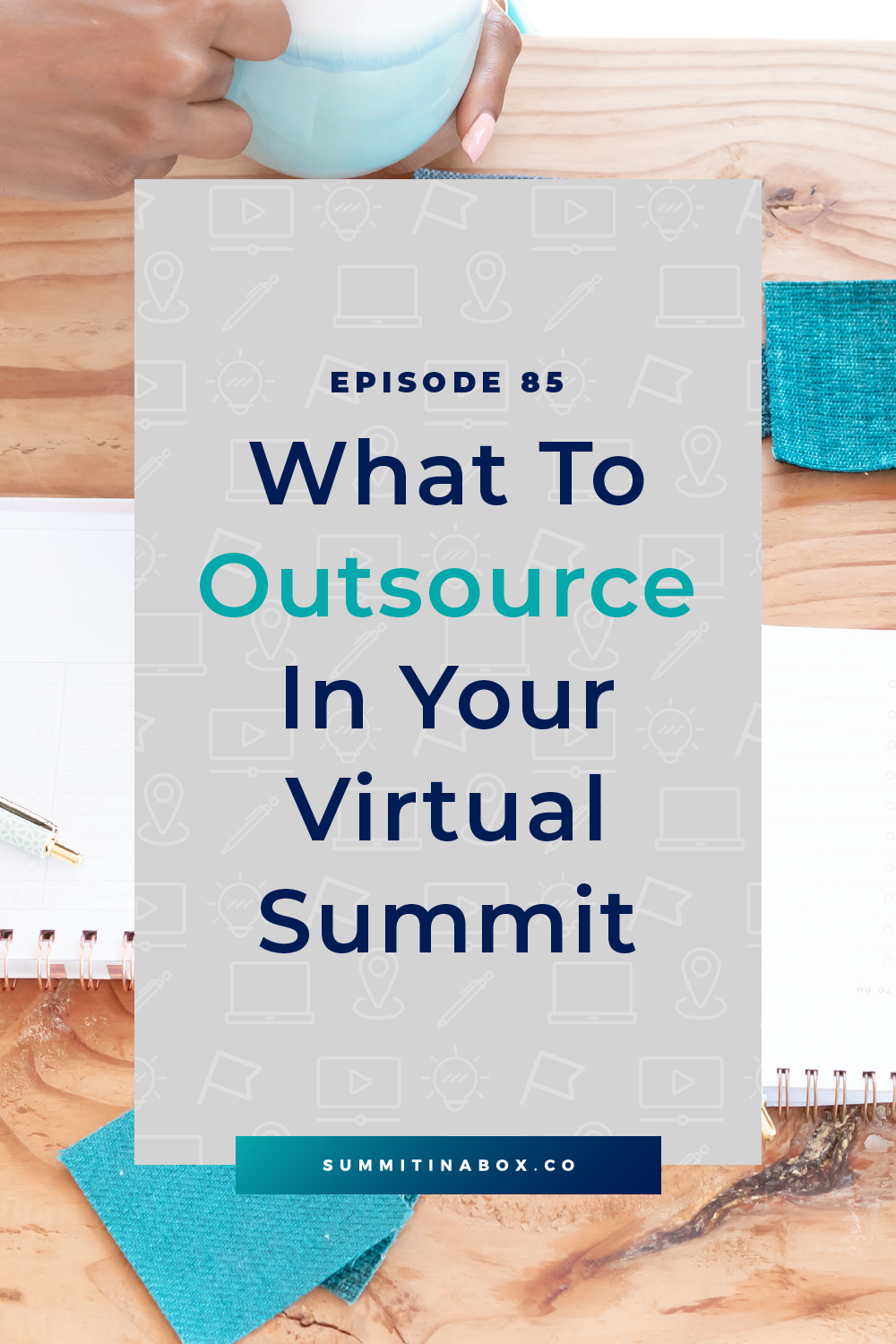 There's a lot that goes into hosting a virtual summit and the best way to lighten the load is to outsource. Let's cover what to outsource in your virtual summit!