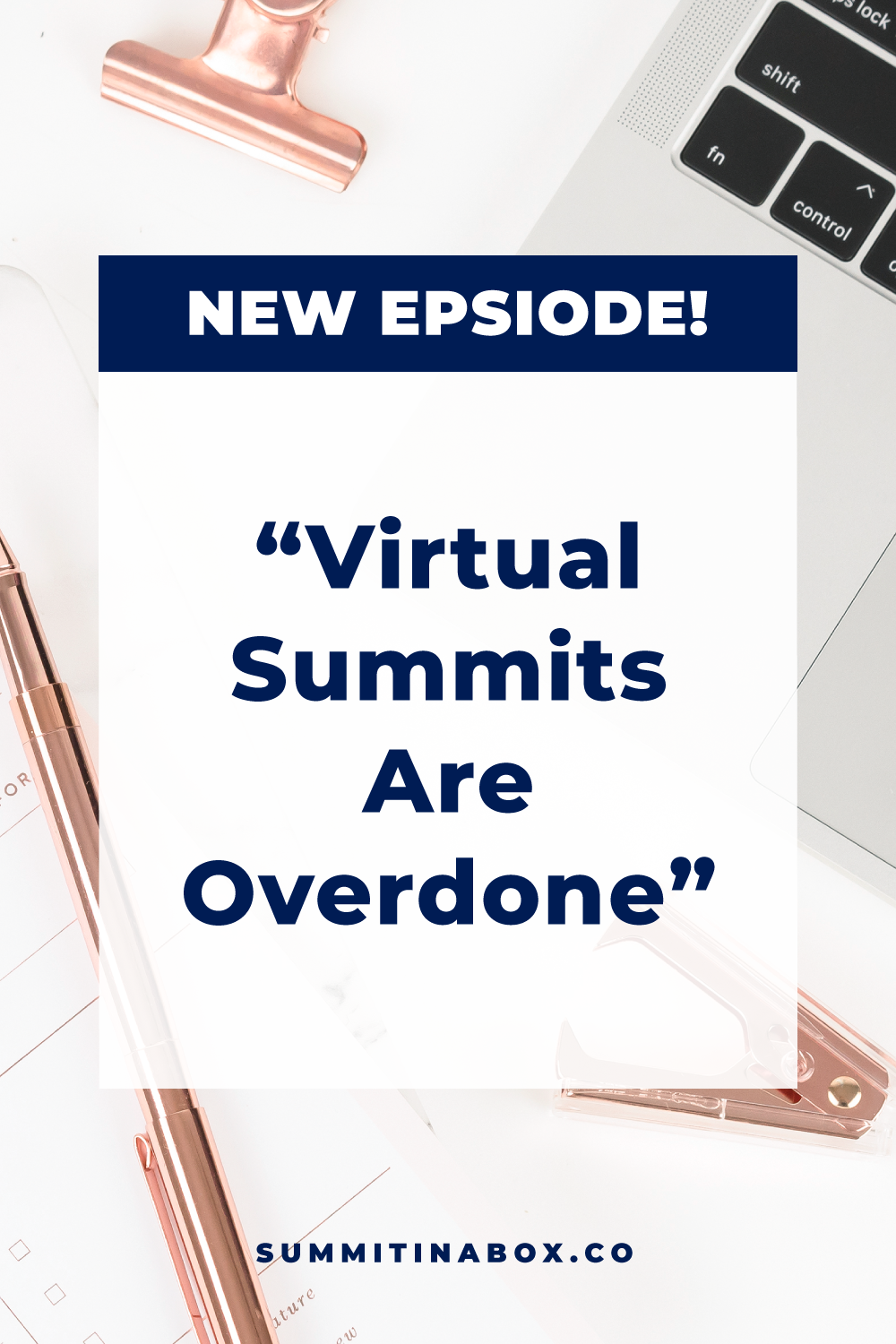 """Have you ever heard someone say that """"virtual summits are overdone""""? I sure have and those people are turning their back on a strategy *because* it works."""
