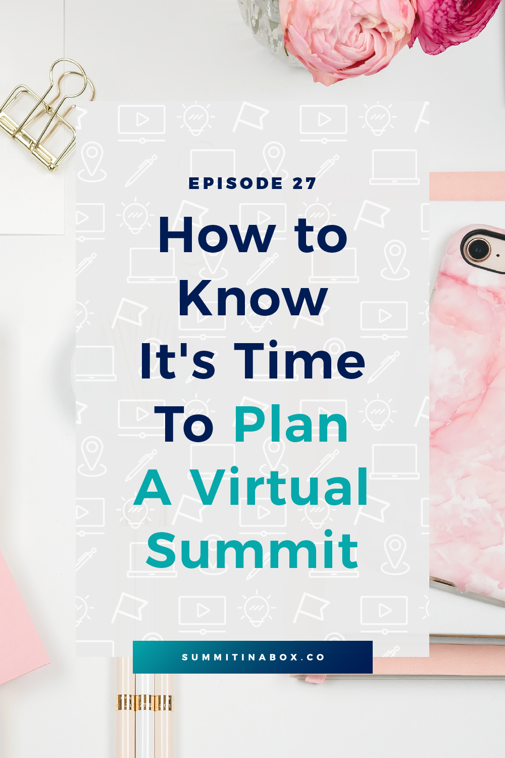 Wondering whether you're really ready to host your first virtual summit? Here are the 3 things you need as well as 3 things you shouldn't wait around for.