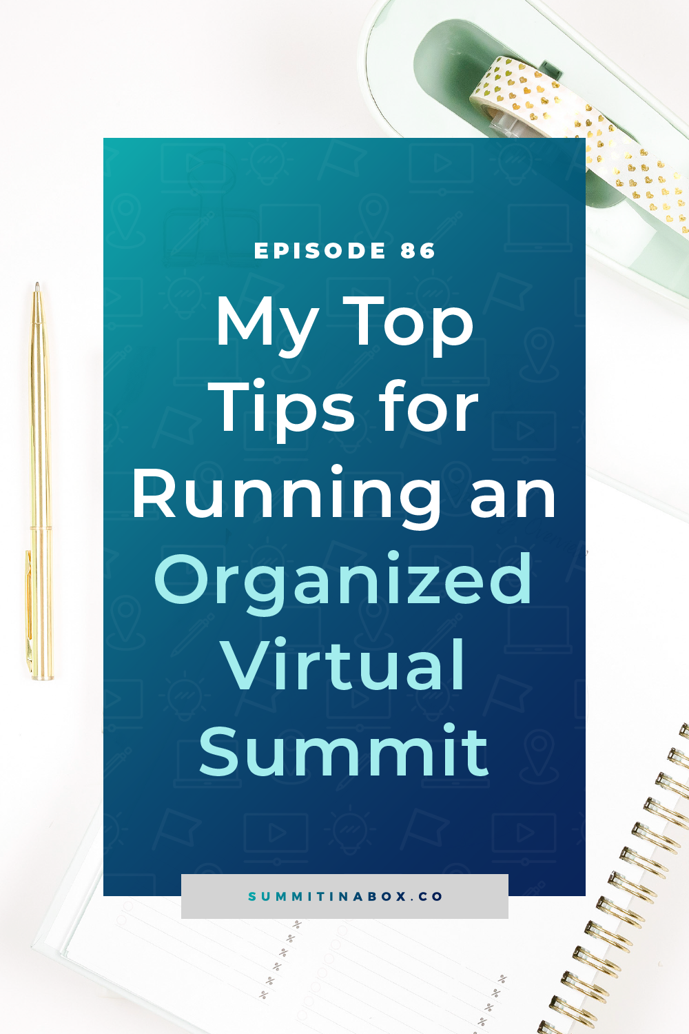 If you aren't organized with your event prep, it is going to turn into a massive headache. Let's cover my top tips for running an organized virtual summit.