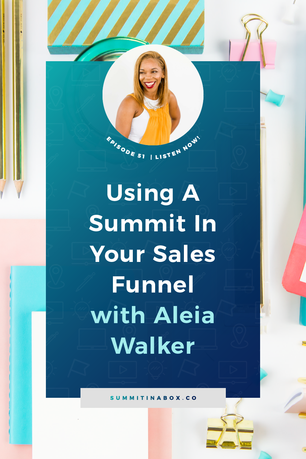 Not having a funnel in place after your summit or speaking in a summit is leaving money on the table. Here's how to use a virtual summit in your sales funnel.