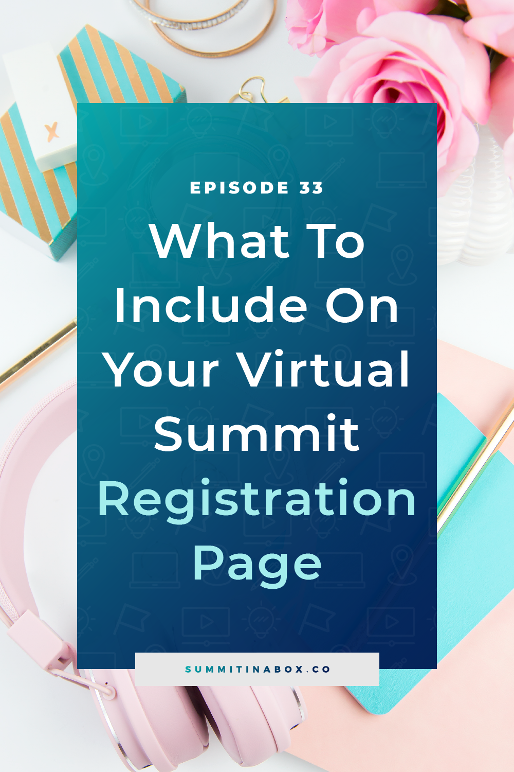 Want a virtual summit registration page that converts? Of course, you do! Here are 19 pieces to include on a high-converting summit registration page.