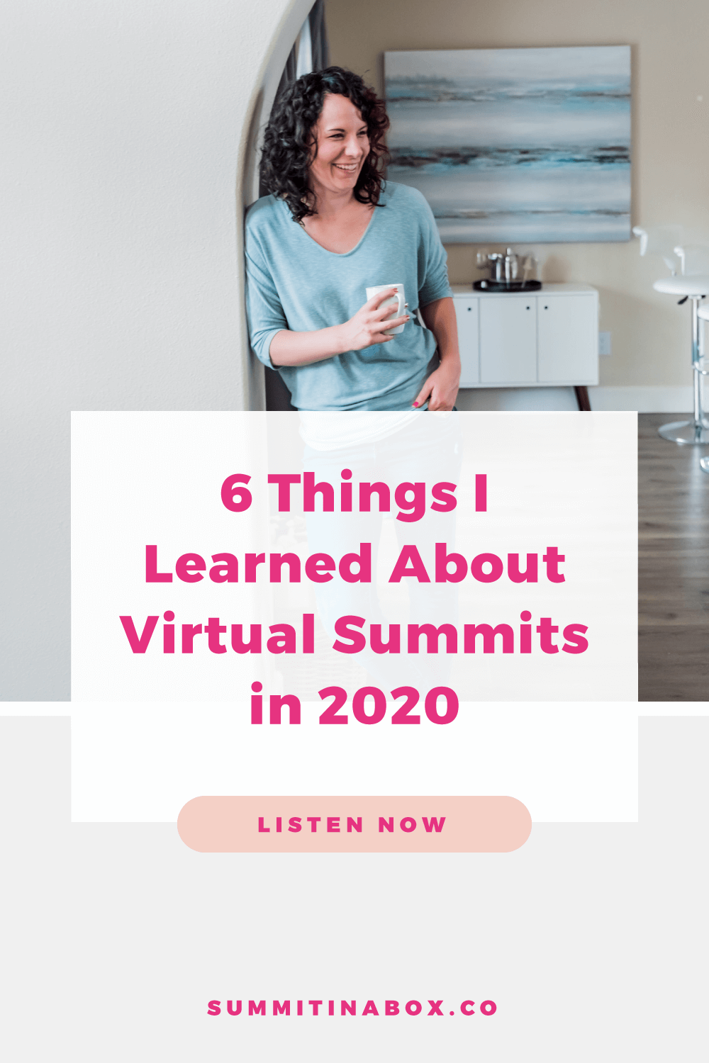 Virtual summits are always changing and evolving so today we'll cover 6 things I learned about virtual summits in 2020.