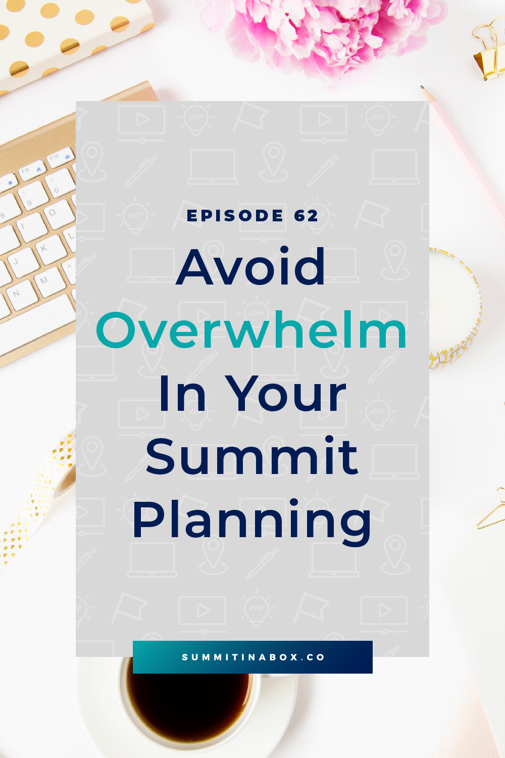 Many hosts begin the summit planning process and end up overwhelmed from the start. Let's break down how to avoid overwhelm in your virtual summit planning.