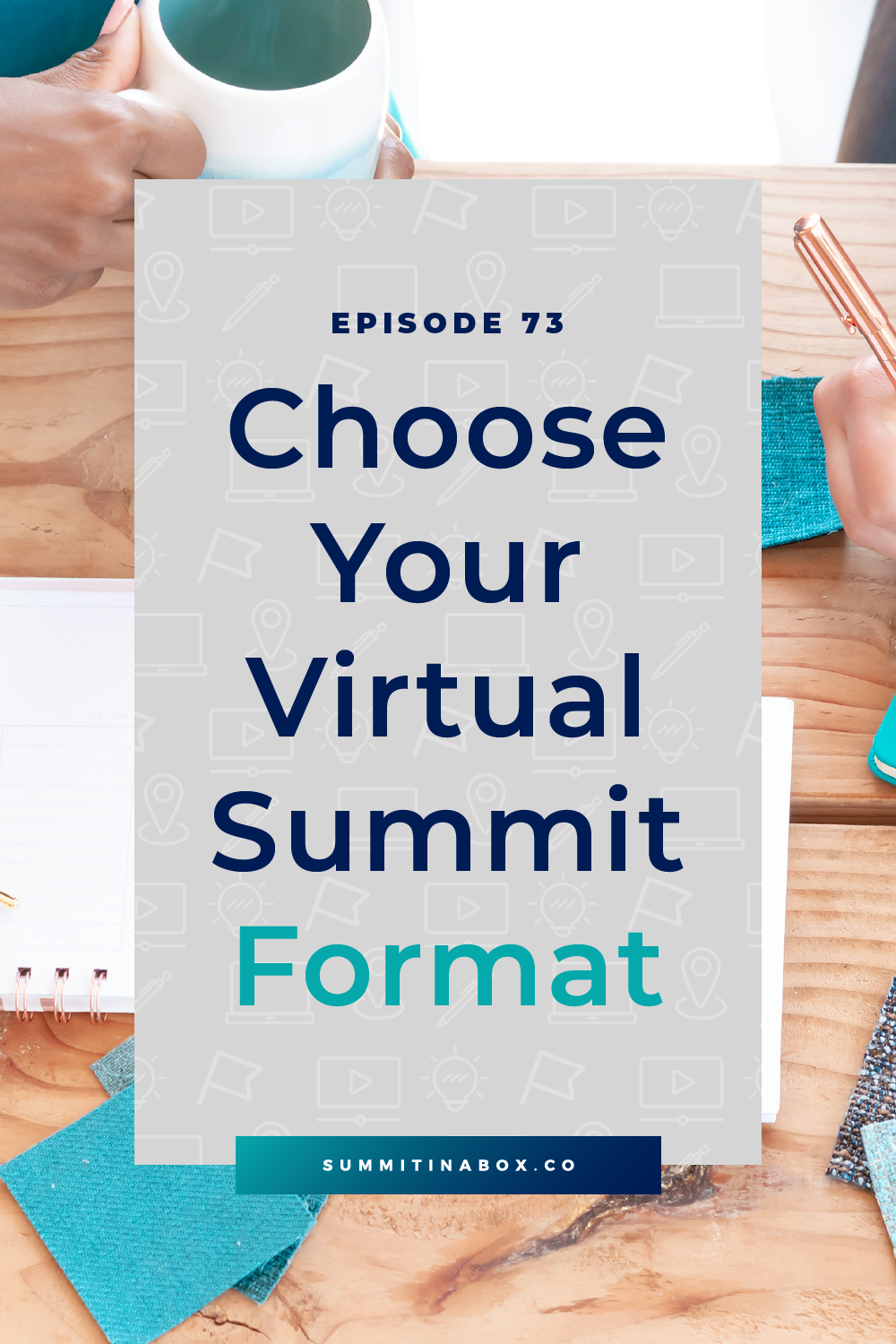 Not sure if your virtual summit should be live or pre-recorded? Have presentations or interviews? Be two days or five? Let's choose your virtual summit format.
