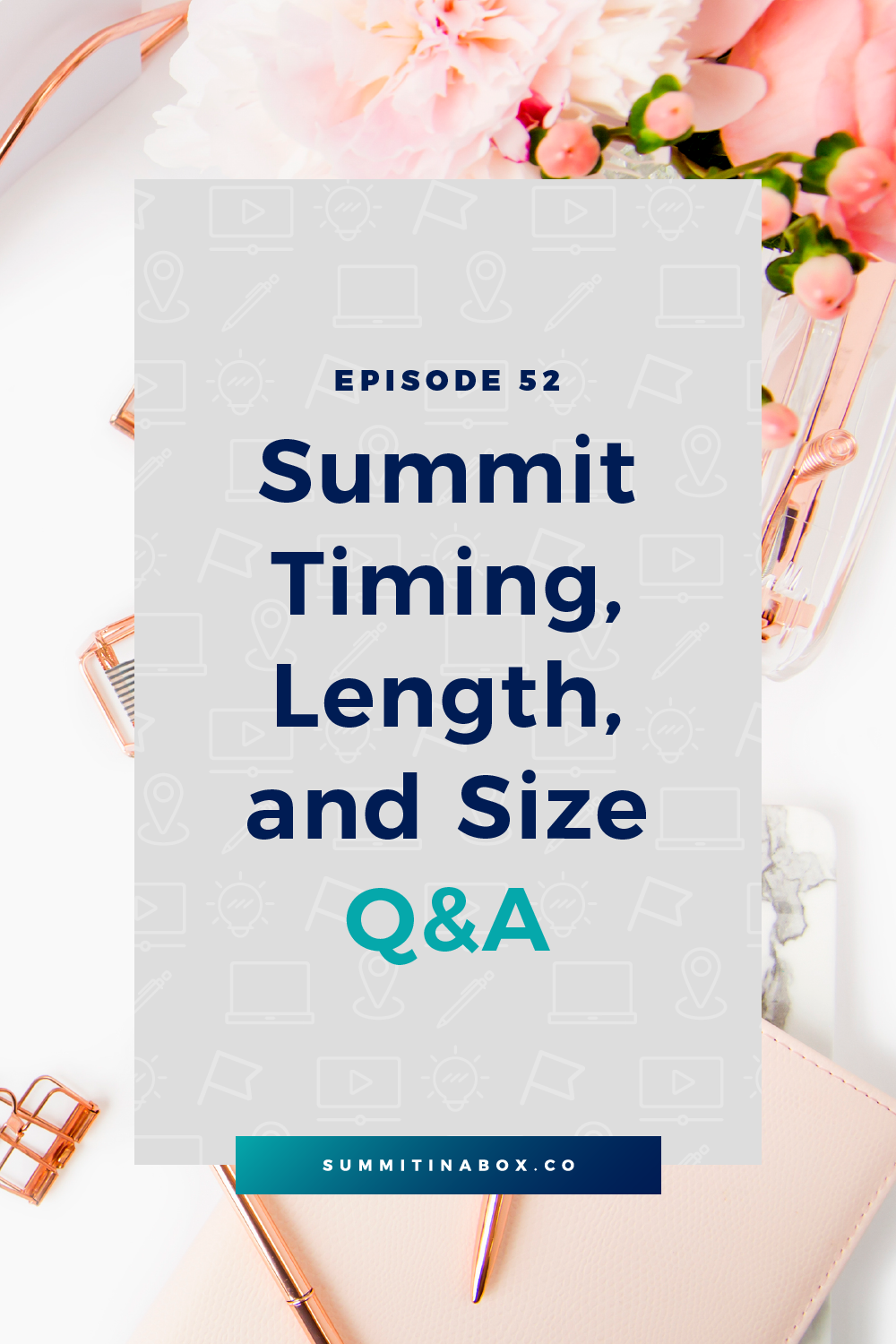 Wondering how to make the best scheduling choices for your virtual summit? Let's talk about when you should host a summit, how many speakers to have, and more!