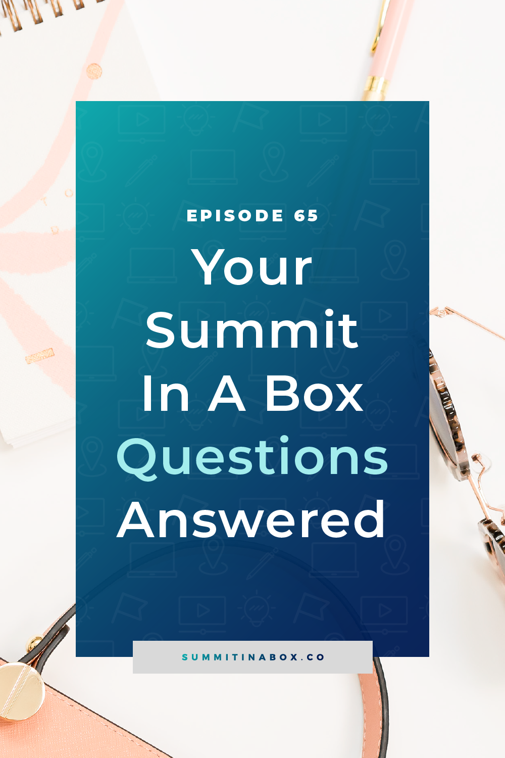 Have questions about the Summit in a Box program? I have answers for you today including how the templates work, whether you need an email list, and more.