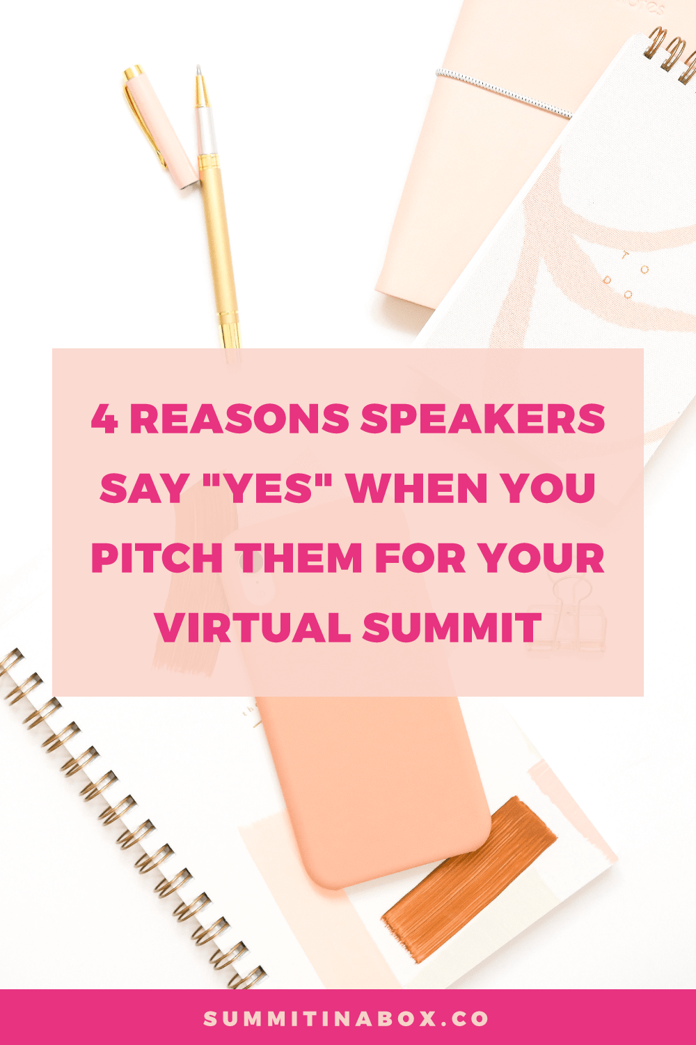 Intimidated by pitching virtual summit speakers? Generally, they're not interested in the size of your list. Here are the top reasons that speakers say yes!