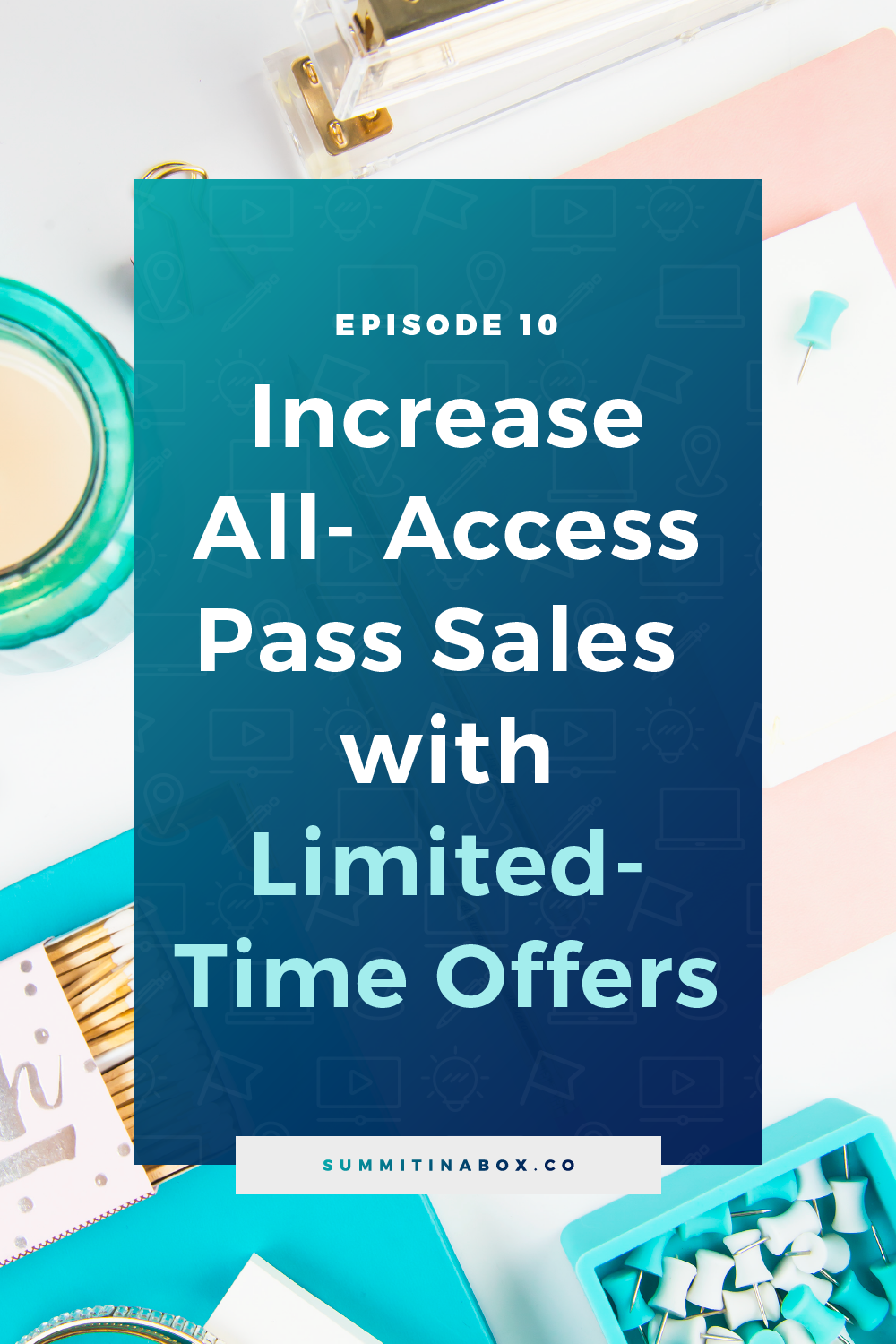 An all-access pass is a powerful way to monetize a virtual summit. Here's how to increase all-access pass sales with limited-time offers throughout your event.