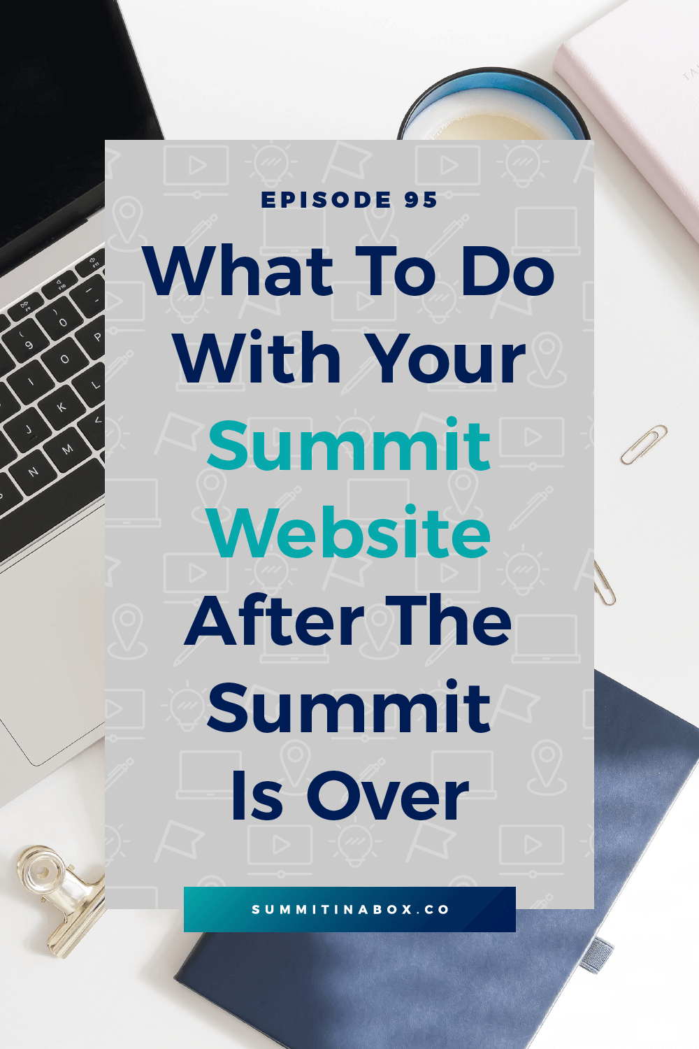 Here's a simple strategy that benefits your business and gives people who land on your virtual summit website a great experience once the event is over.