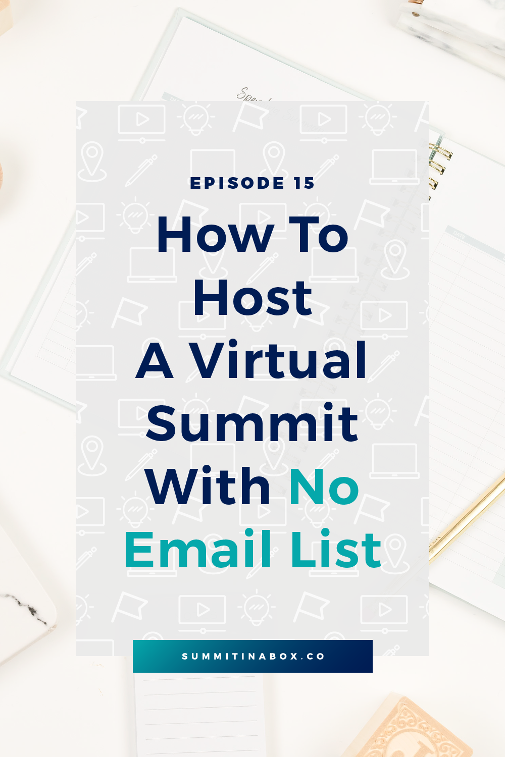 Many marketing strategies depend on a large email list to succeed. Not a virtual summit! Let's cover how to host a profitable virtual summit with no email list.
