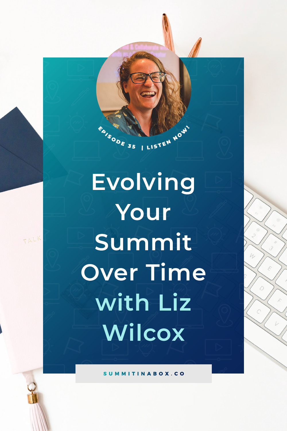 Let's talk about evolving your summit and offer over the years, plus how to help an audience not familiar with virtual summits understand how it all works.