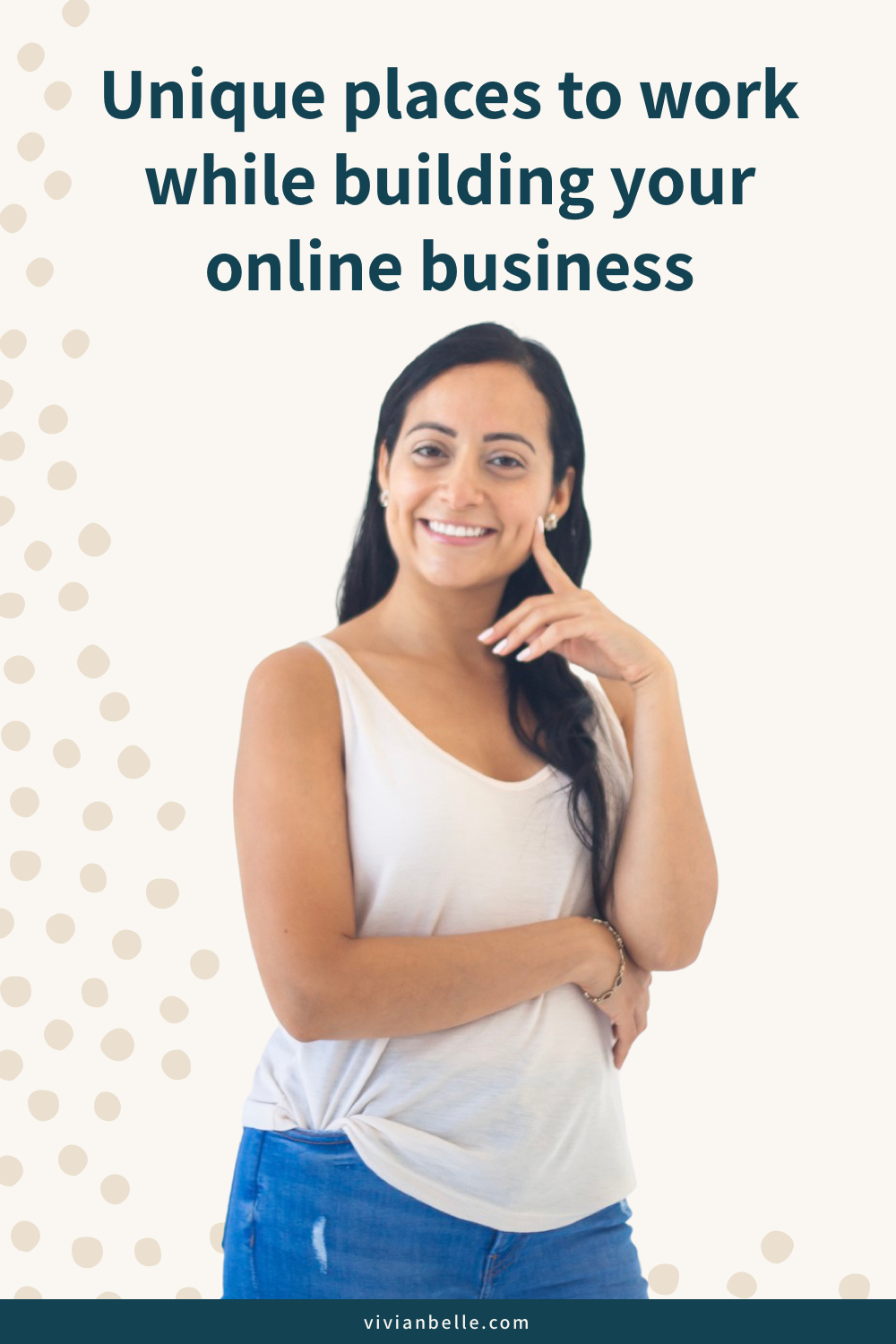 Unique places to work while building your online business