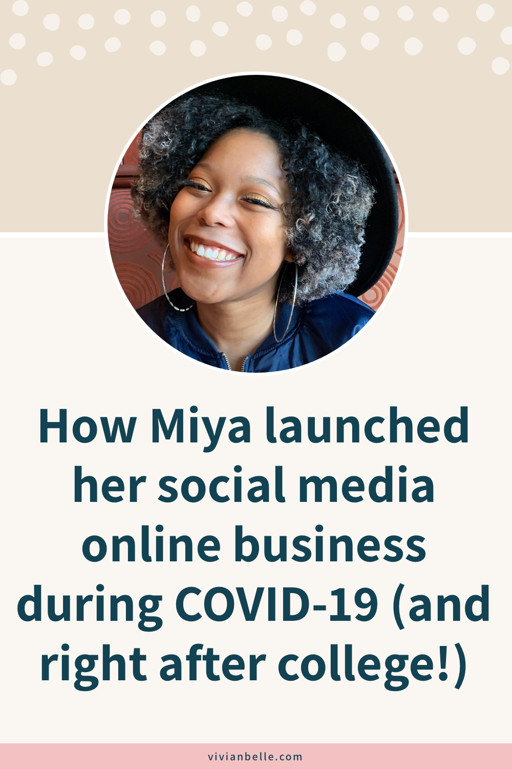 How Miya launched her social media online business during COVID-19