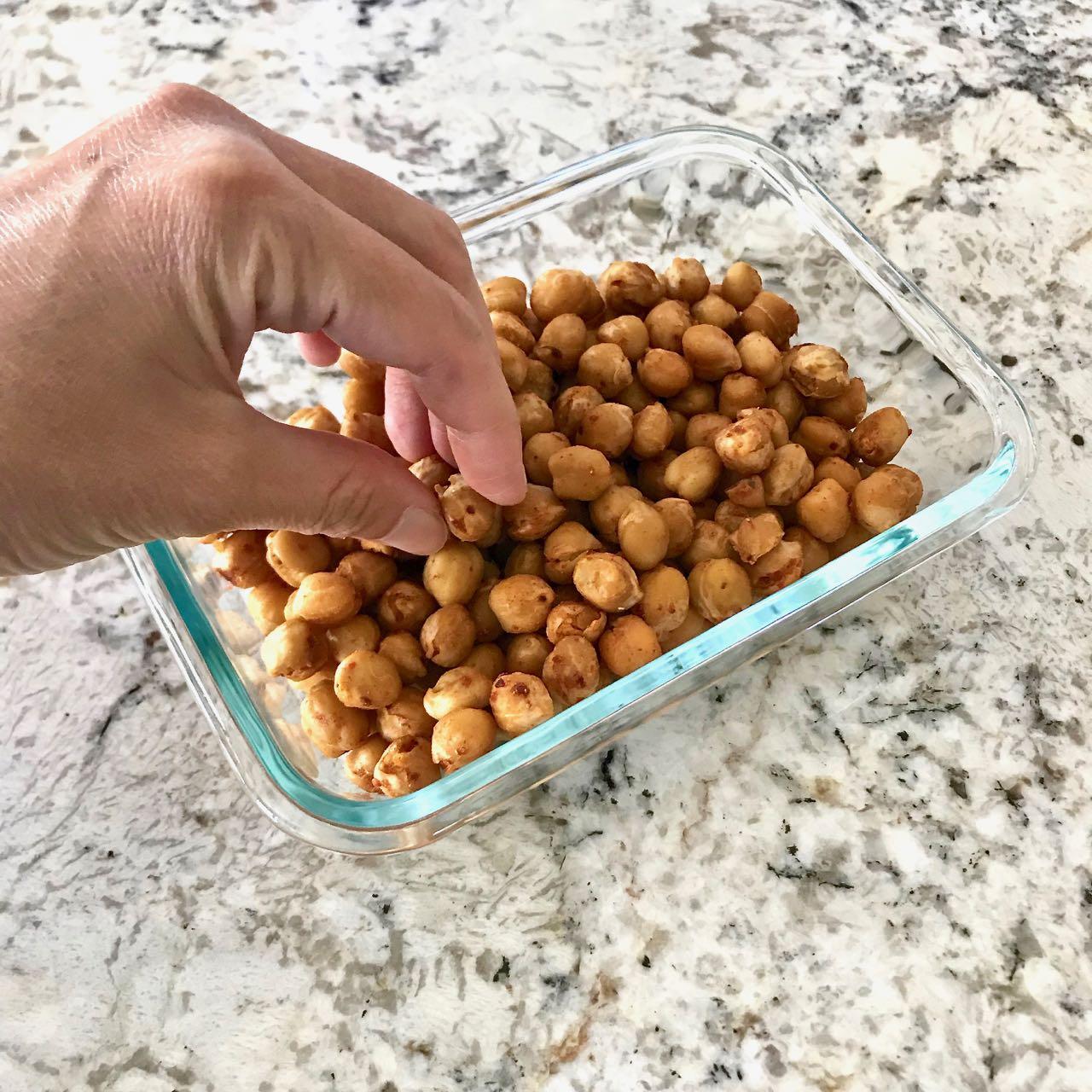Spiced Chickpea Popcorn