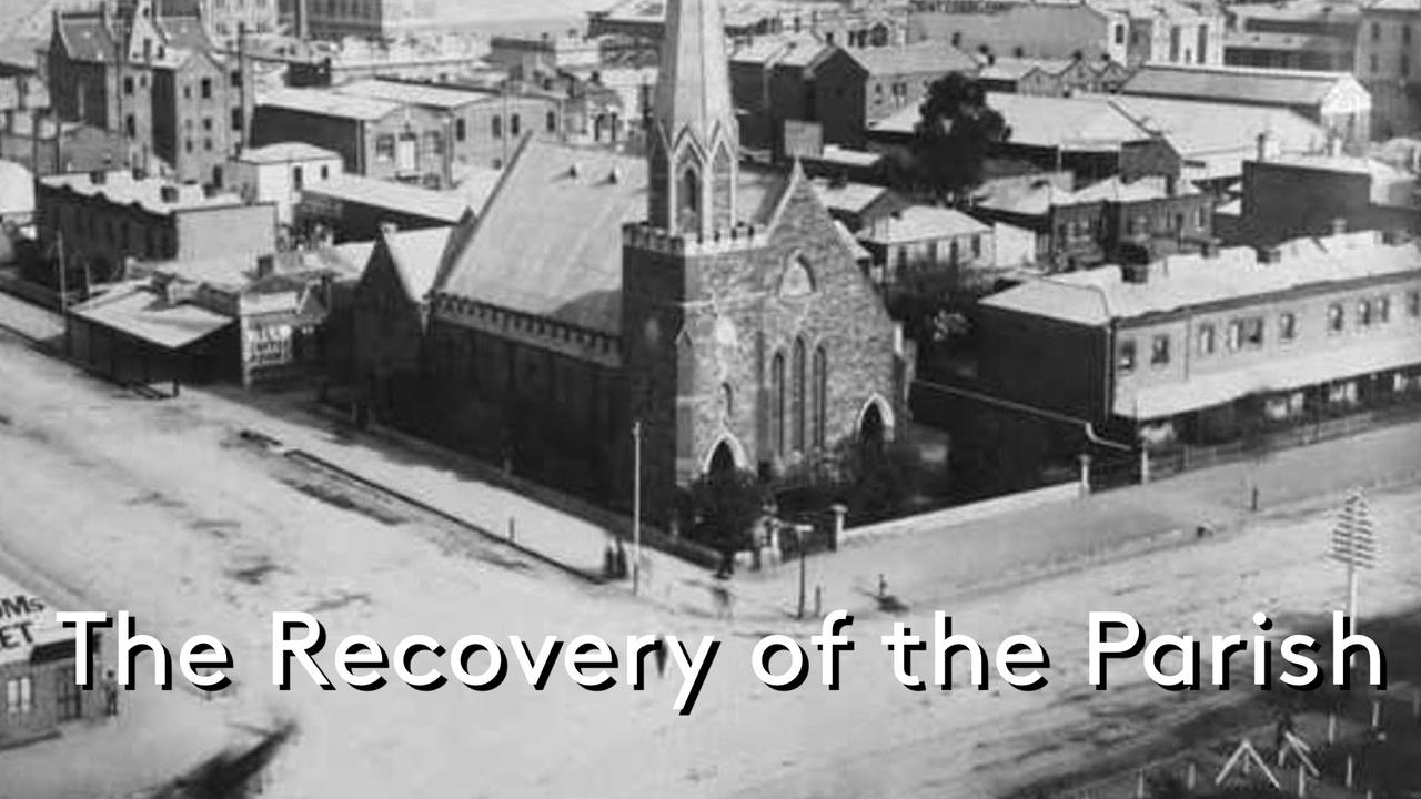 Thomas Chalmers and the Recovery of the Parish