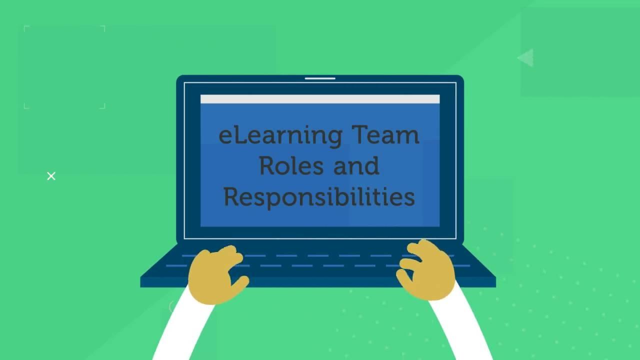 Elearning Team Roles For Instructional Designers