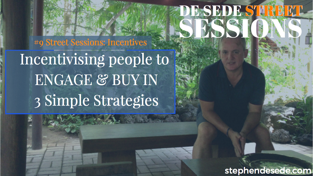#9 Street Sessions: Incentivising Marketing Strategies