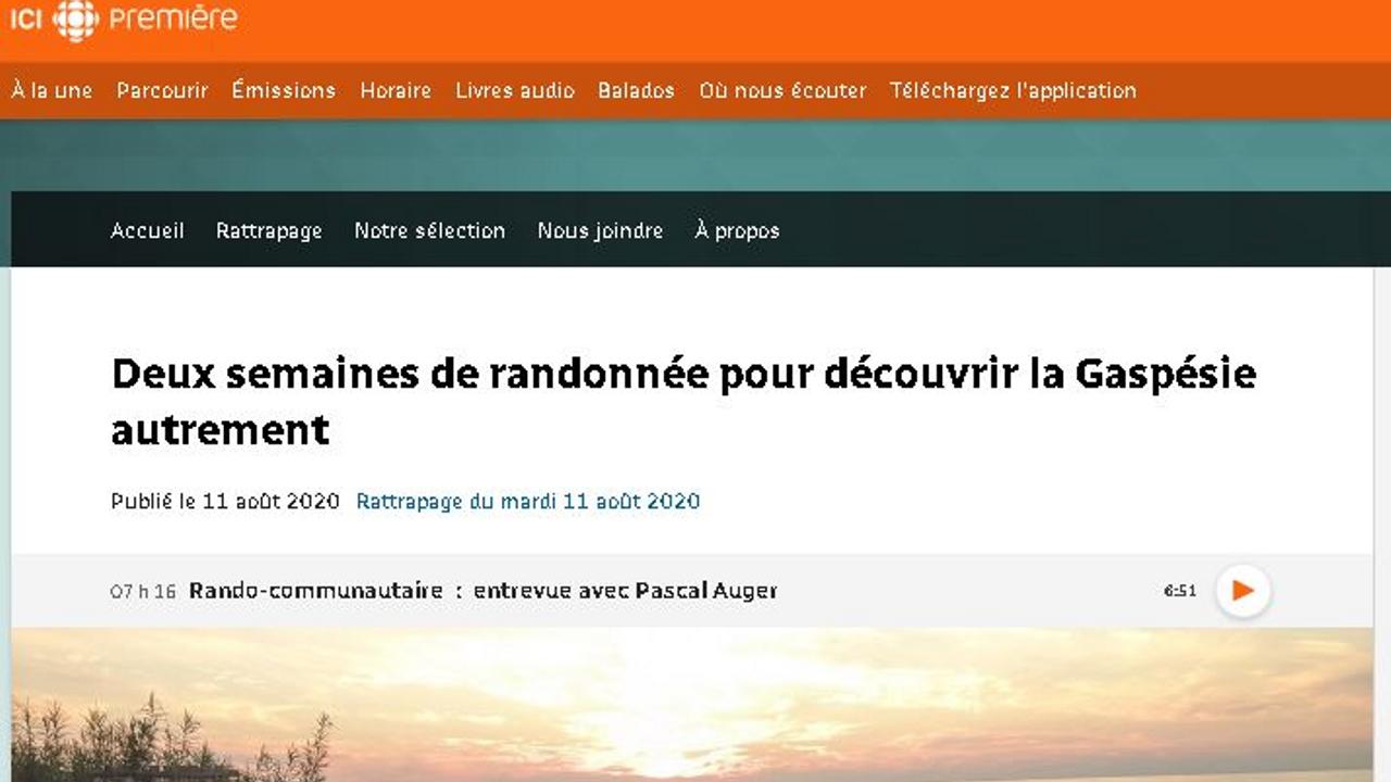 Isabelle Lévesque, Bon pied, bonne heure!